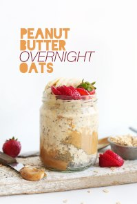 DELICIOUS-PEANUT-BUTTER-Overnight-Oats-5-ingredients-5-minutes-prep-SO-amazing-healthy-vegan-glutenfree-breakfast-oats-recipe